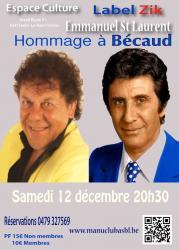 Hommage à Bécaud