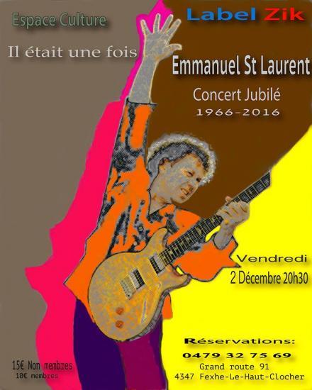 Il était une fois Emmanuel St Laurent (50 ans de carrière)