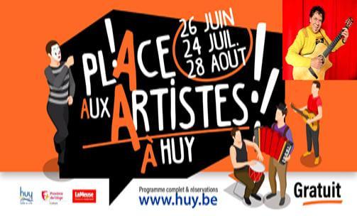 Place aux artistes à Huy